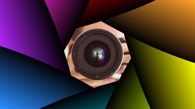 7 Camera Shutter Transitions: Stock Motion Graphics