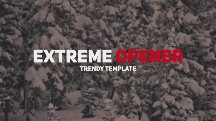 Extreme Glitch Opener: Premiere Pro Templates