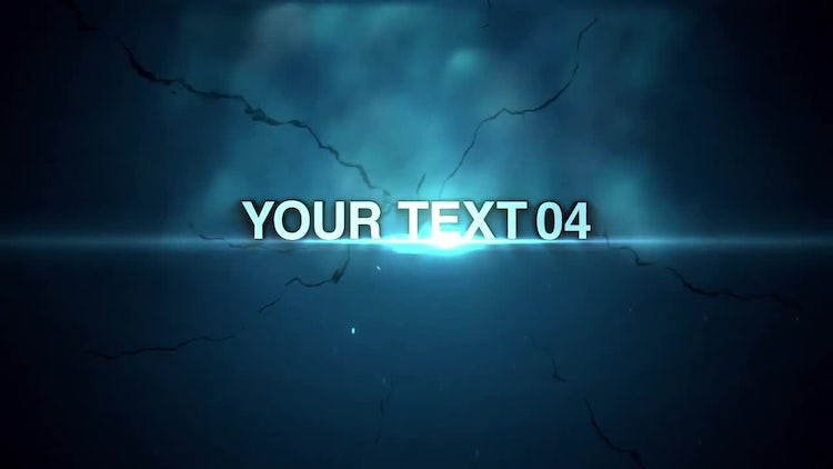 Type Slam: After Effects Templates