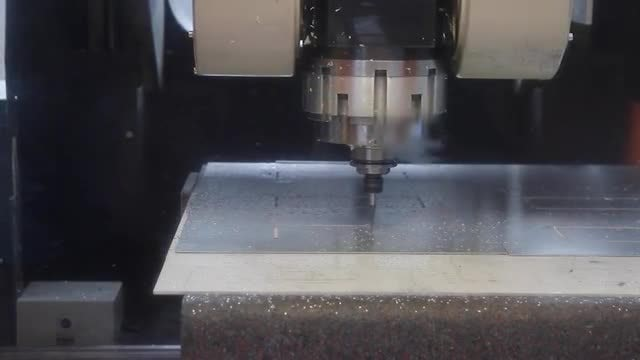 Drilling CNC Machine: Stock Video