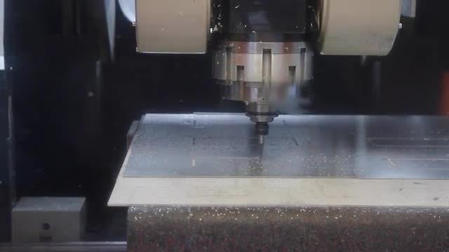 Drilling CNC Machine: Stock Video