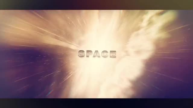 In The Space Intro: After Effects Templates