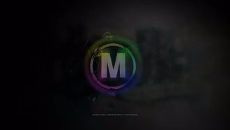 Raindrops Logo Reveal: After Effects Templates