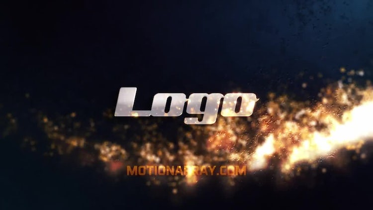 Dark Particle Logo: After Effects Templates