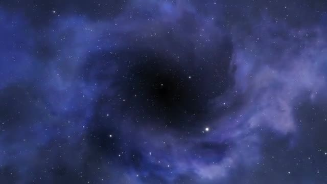 Dark Outer Space Background: Stock Motion Graphics