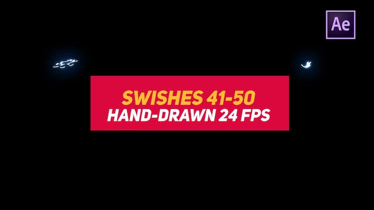 Liquid Elements Swishes 41-50: After Effects Templates