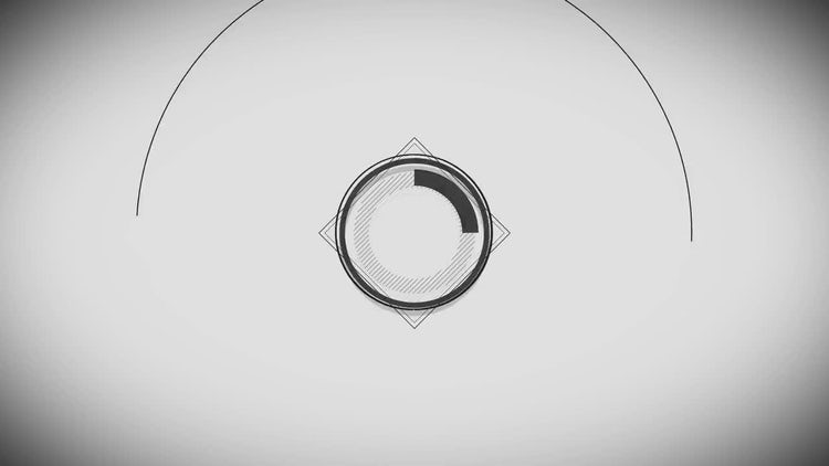 Minimal Black & White Logo: After Effects Templates