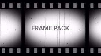 Old Film Frame Pack: Motion Graphics
