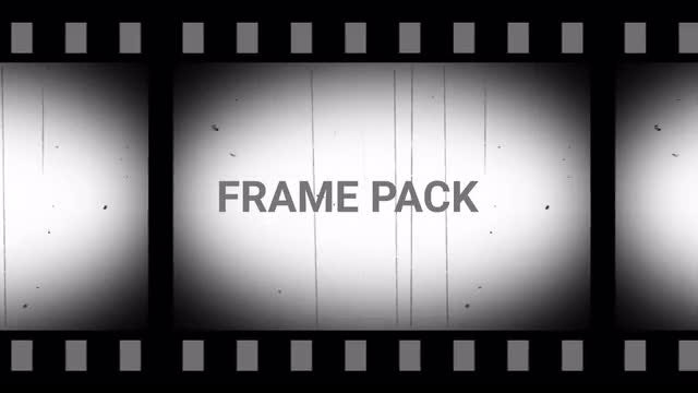 Old Film Frame Pack: Stock Motion Graphics