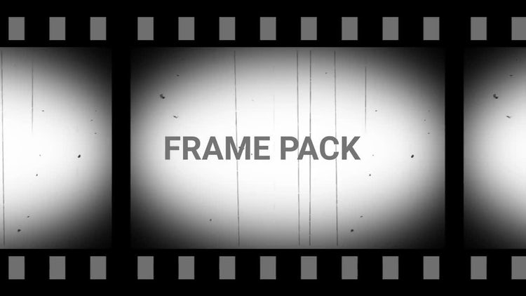 Old Film Frame Pack - Stock Motion Graphics | Motion Array