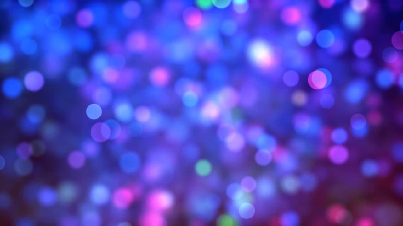 blue  u0026 pink bokeh background loop
