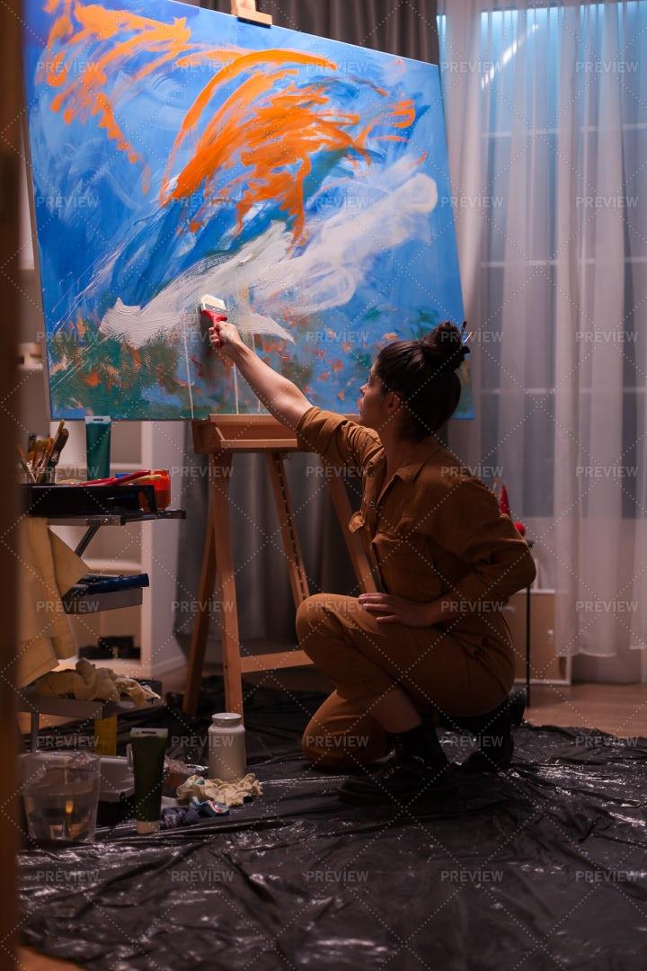 Impressionist Painter: Stock Photos