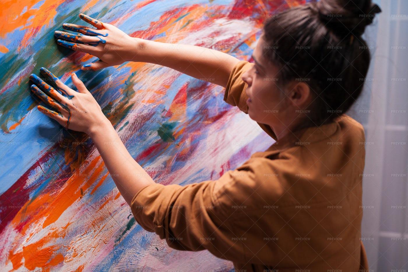 Creativity With Fingers: Stock Photos