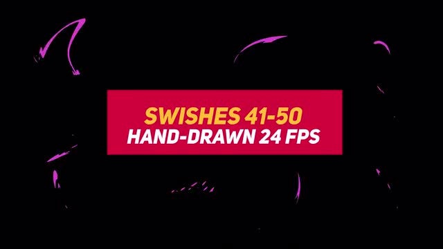 Liquid Elements Swishes 41-50: Stock Motion Graphics