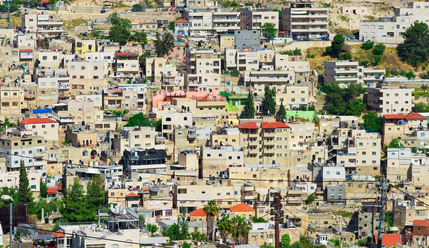 Jerusalem Arab Neighborhood: Stock Photos