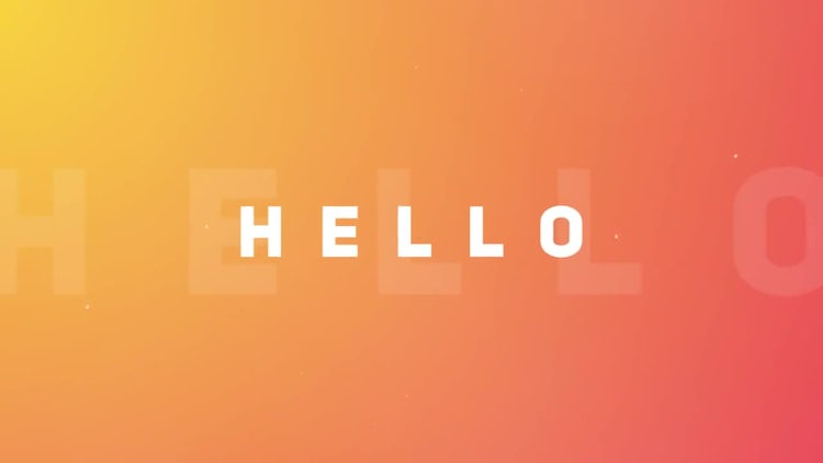 Colorful Simple Opener: After Effects Templates