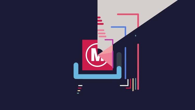 Flat Logo Reveal: Premiere Pro Templates