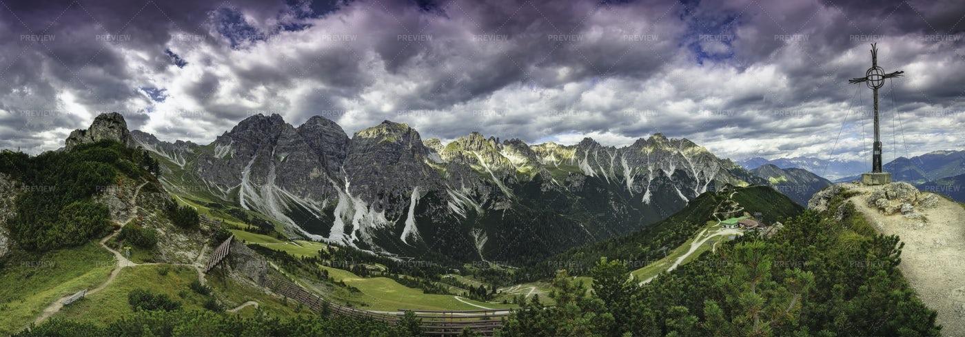 Alps In Austria: Stock Photos