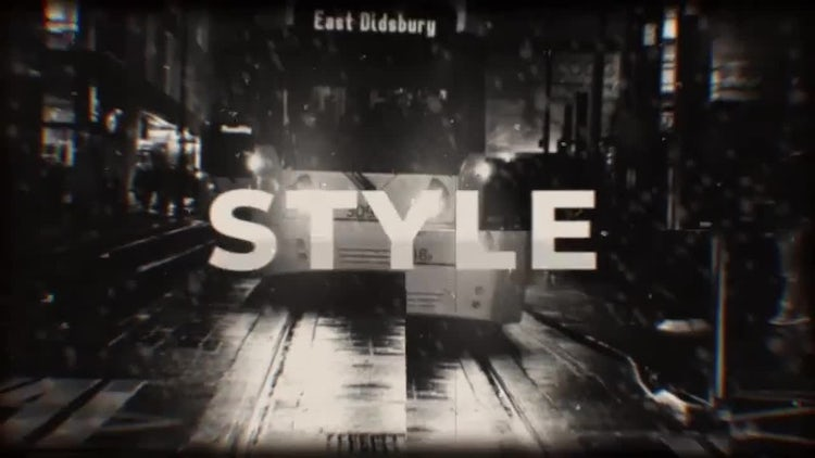Old and Modern Style Opener: After Effects Templates