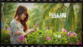Film Roll Story: After Effects Templates