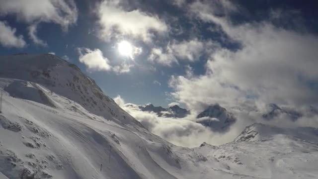 Glistening French Alps : Stock Video