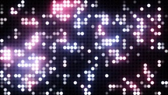 Red-Blue LED VJ background: Motion Graphics