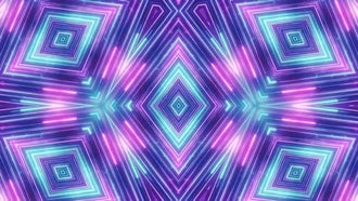 Neon Diamonds VJ background: Motion Graphics