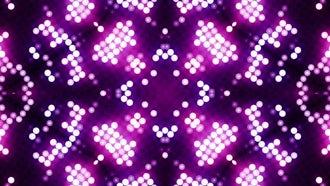LED Flower Patterns VJ Background: Motion Graphics