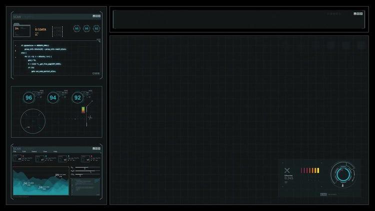 Sci-Fi Computer Screens : Motion Graphics