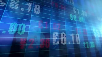 Global Currency Exchange Rates: Motion Graphics
