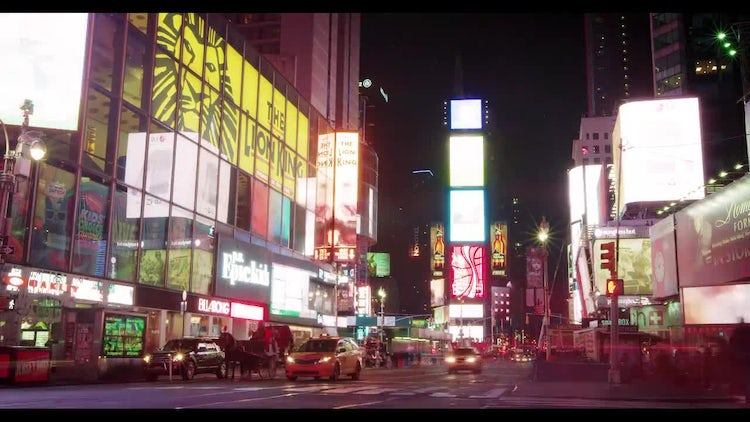 Time Square Ads : Stock Video