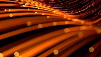 Elegant Golden Lines Background 01: Motion Graphics