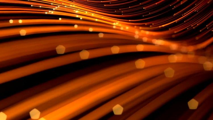 Elegant Golden Lines Background 01: Stock Motion Graphics