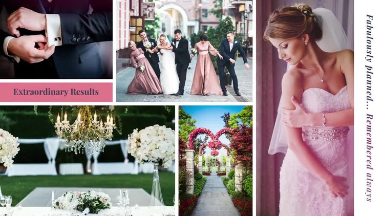 Wedding Agency: After Effects Templates