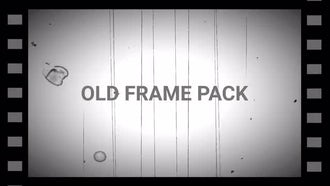 Old Frame Pack: Motion Graphics