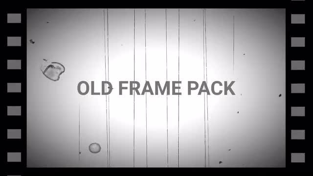 Old Frame Pack: Stock Motion Graphics