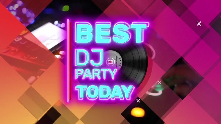 Social Dj Promo: After Effects Templates