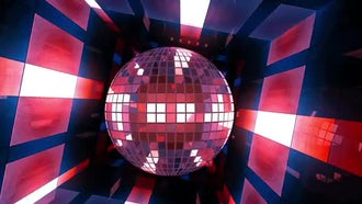 VJ Disco Ball: Motion Graphics