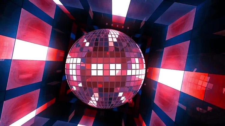 VJ Disco Ball: Stock Motion Graphics