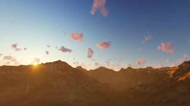 Fly Over The Mountain: Stock Motion Graphics
