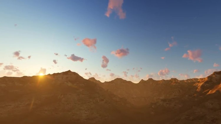 Fly Over The Mountain: Motion Graphics