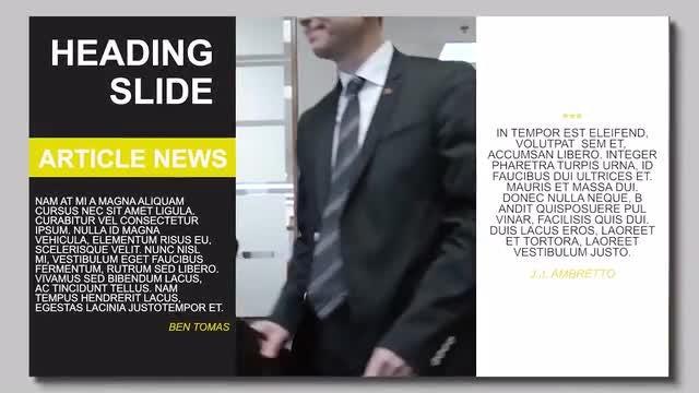 Clean Corporate Presentation. Corporate Slideshow.: Premiere Pro Templates