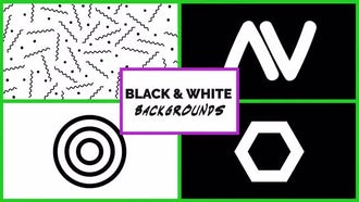 Black And White Backgrounds: Motion Graphics