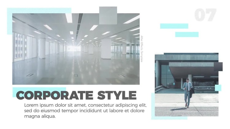 Corporate Slides: After Effects Templates