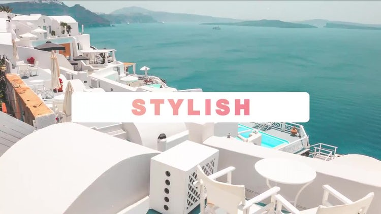 Dynamic Modern Slideshow: After Effects Templates