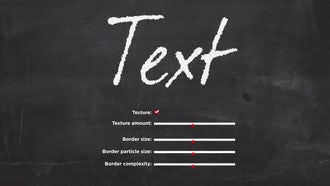 Chalk Board Animated Handwriting: After Effects Templates