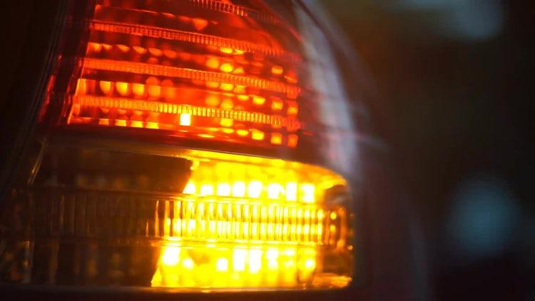 Car Blinker Light: Stock Video