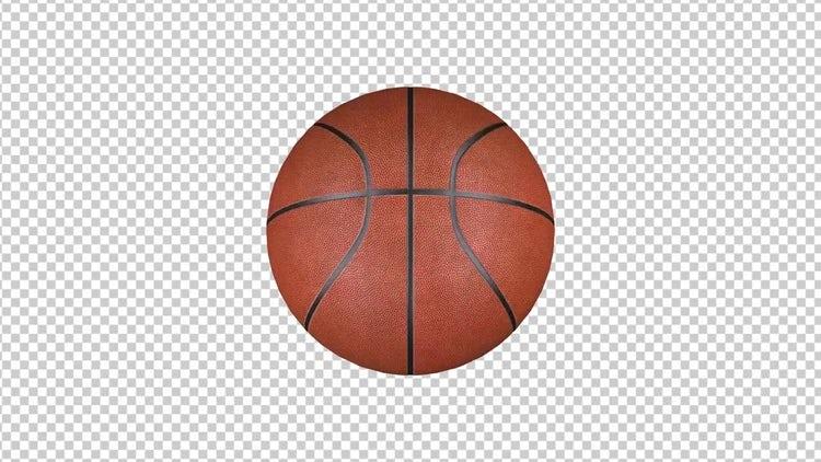 Spinnning Basketball : Motion Graphics