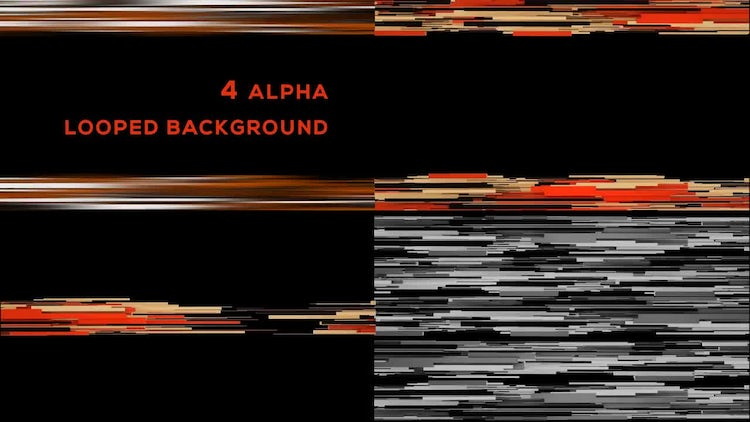 Abstract Lines Background: Motion Graphics
