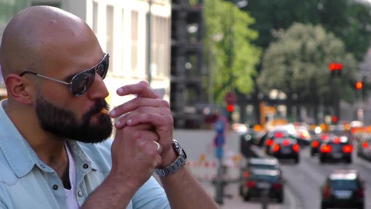 People Smoking - Stock Video Pack: Stock Video